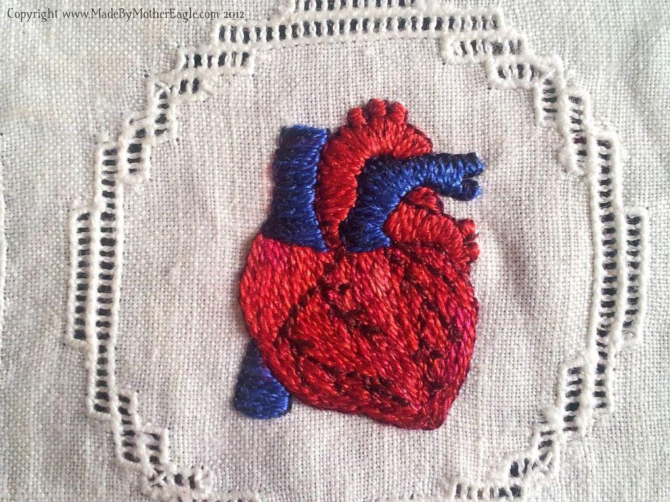 Silk heart