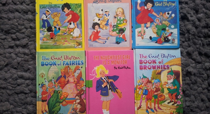On My Bookshelf…Enid Blyton