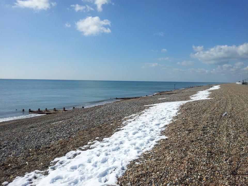 sunny seaside