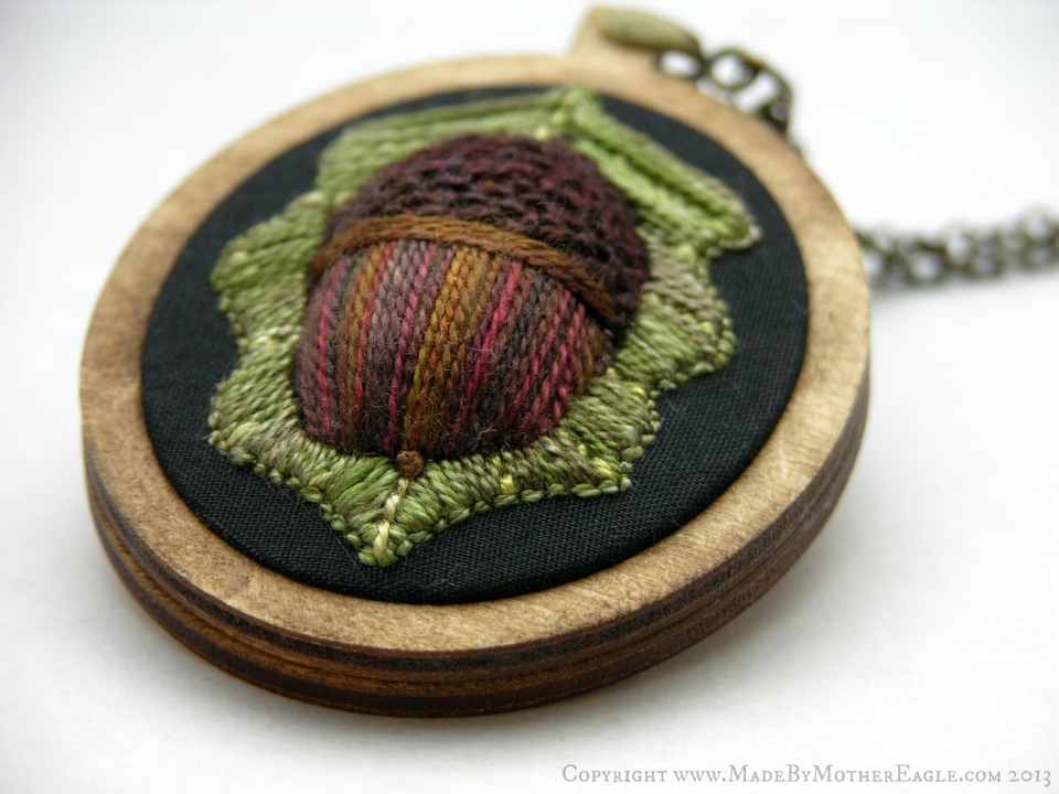 The All Hallow's Acorn Pendant