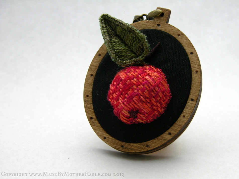 The All Hallow's Crabapple Pendant