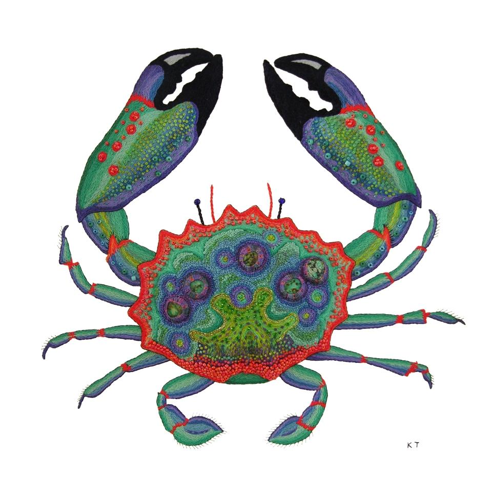 Crab God Print